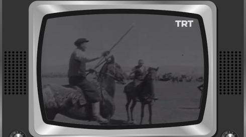 TRT Arşiv farkıyla cirit oyunu şenliği