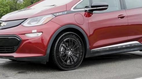 Michelin'den lastik devrimi: Patlamayan havasız lastik modelini tanıttı