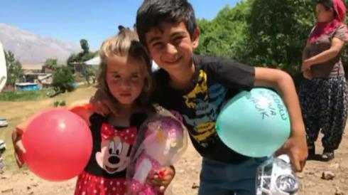 Tunceli'de mayın patladı: 2 çocuktan bu görüntüler kaldı