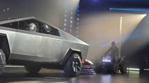 Tesla, Cybertruck'ı yalnız bırakmadı: 'Cyberquad!'