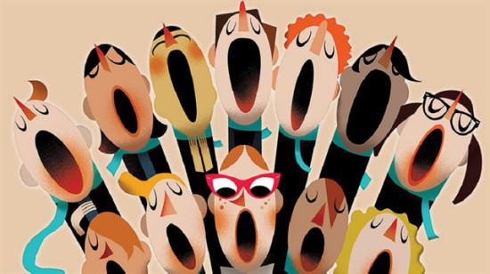 Sadece insan sesi kullanılarak yapılan sanat gibi sanat: Acapella
