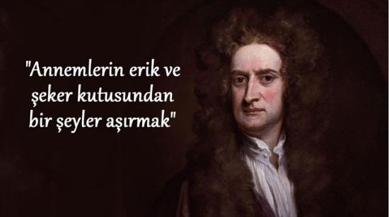Newton'un 19 yaşındayken listelediği 13 enteresan günahı