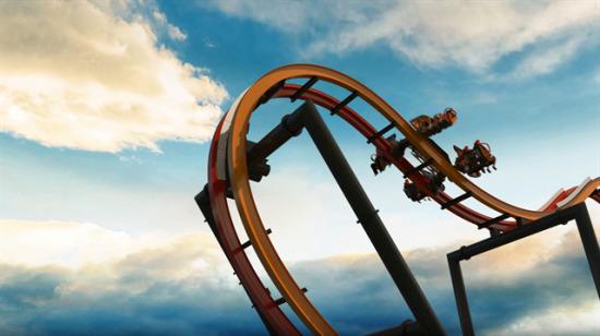 Dünyanın en tehlikeli ve eğlenceli roller coaster'ı