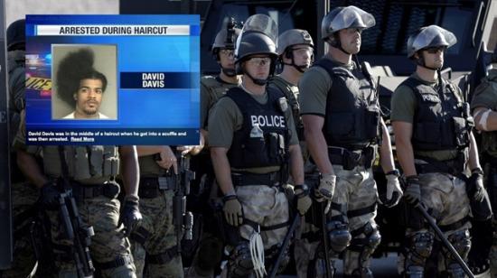 Berberde tutuklandı: Saç traşı yarım kaldı