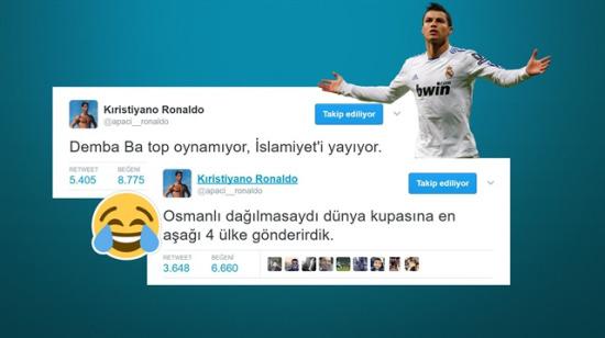 Babacan fenomen: Futbolun güldüren yüzü Kıristiyano Ronaldo'nun en komik 10 paylaşımı