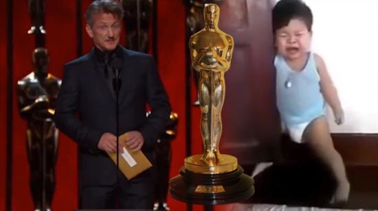 Minik çocuktan Oscar'lık performans