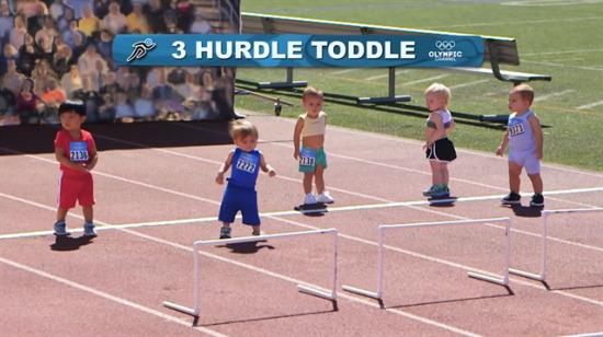 Bebekler olimpiyat sporlarına katılsaydı...