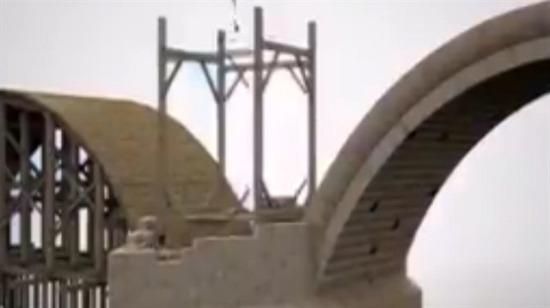 1357 yılının inşaat teknolojisi izleyenleri hayran bıraktı