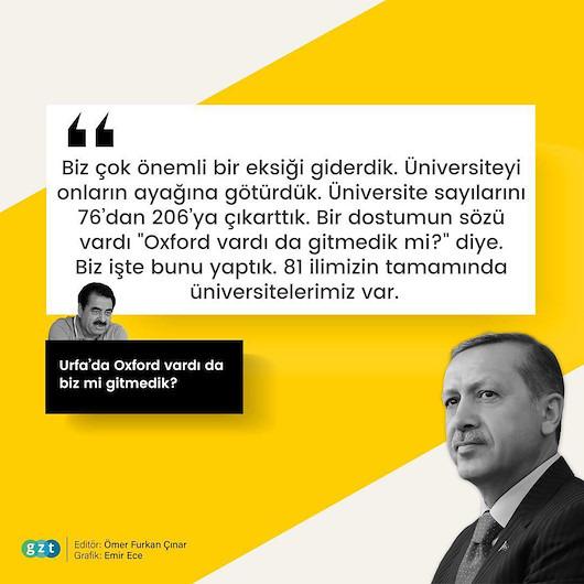 Erdoğan yıllar sonra Tatlıses'in 'Oxford' çağrısına yanıt verdi
