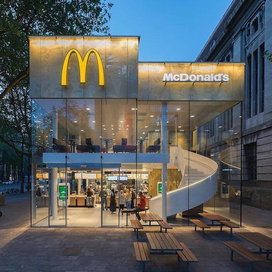 Görmeye alışık olmadığımız bir McDonald's mağaza konsepti