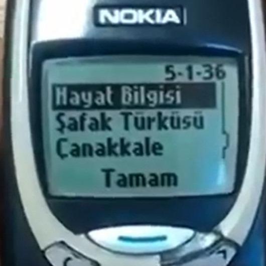 Bu telefonla herkesin bir anısı var