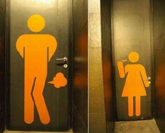 Tuvaleti Mizah şovun Başkenti Yapan 10 Komik Tuvalet Yazısı