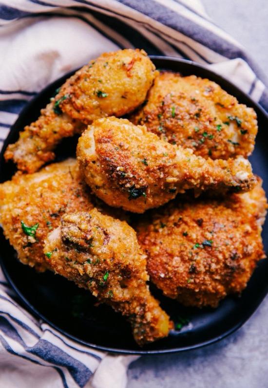 Çıtır soslu tavuk butları