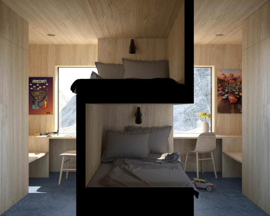 Öğrenci evleri için ergonomik tasarım