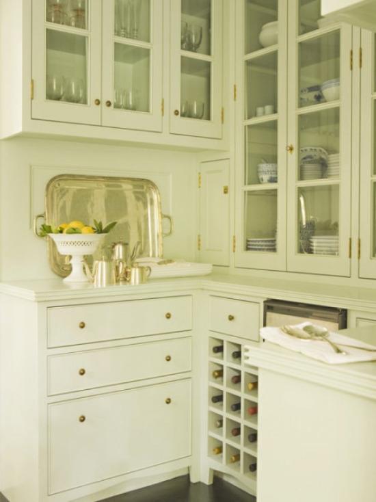Mutfakta beyaz renk favorim
