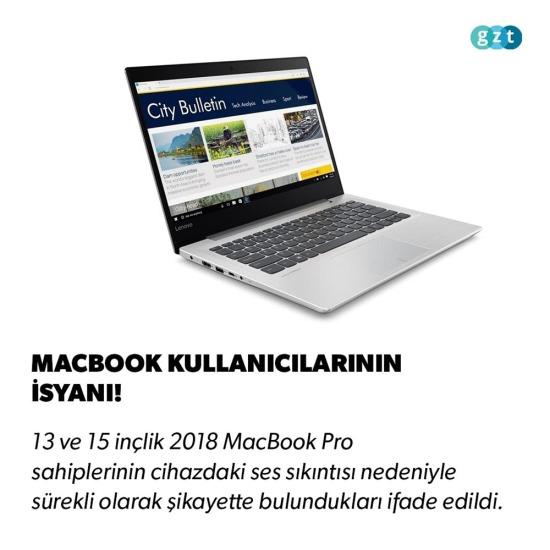 MacBook kullanıcıları isyanda!