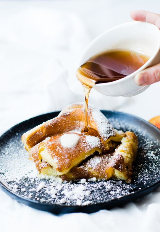 Almanya'ya özgü pancake