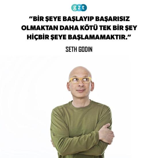 Seth Godin'den tavsiye!