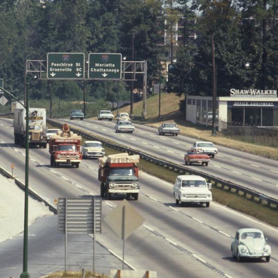 Atlanta şehir yolu, 1968