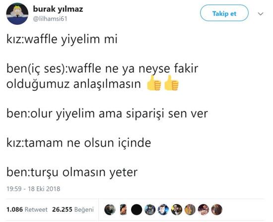 Waffle değil meyveli lahmacun