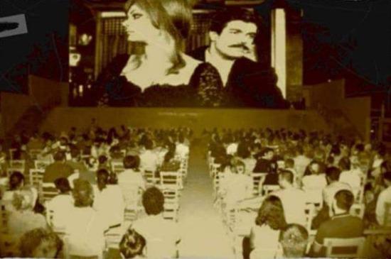 Diyarbakır'da bir sinema. 1970