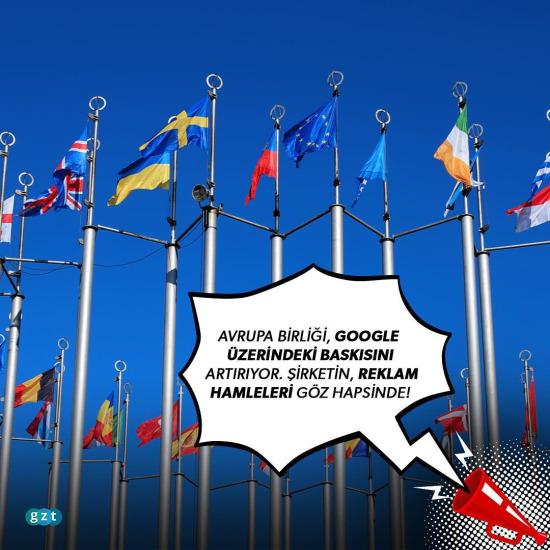 Avrupa Birliği'nin Google hamlesi