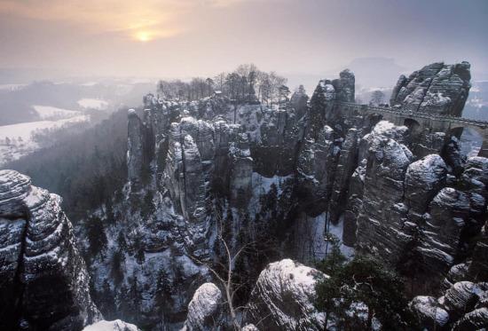 Almanya'nın Kumtaşı Dağları