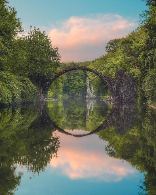 Saksonya'daki Şeytan Köprüsü, Almanya