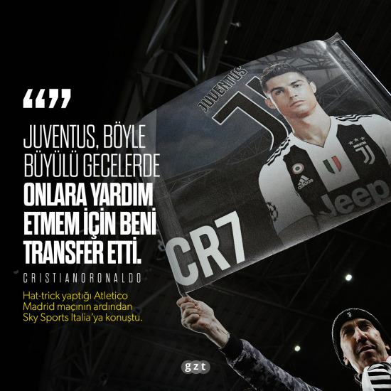 Ronaldo, Juventus'a gelme nedenini anlattı