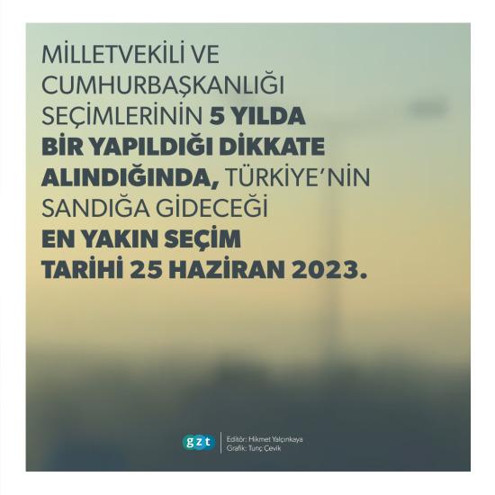 Türkiye'de en yakın seçim ne zaman?
