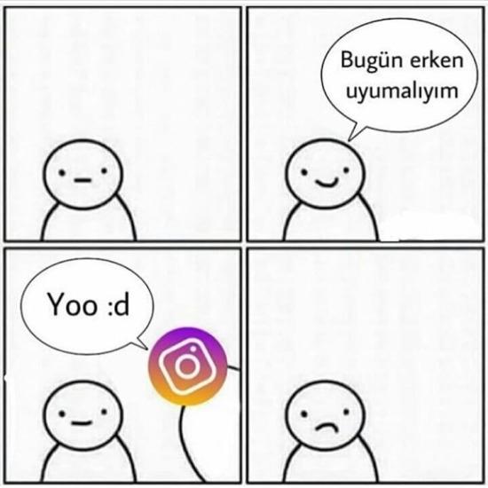 Instagram bırak peşimizi