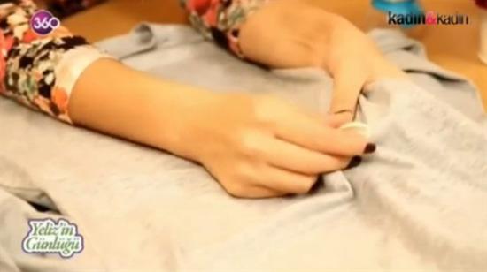 Kıyafete yapışan sakızı çıkarmanın kolay yolu