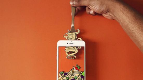 Bir telefon ancak bu kadar güzel kullanılabilirdi dedirten 10 görsel