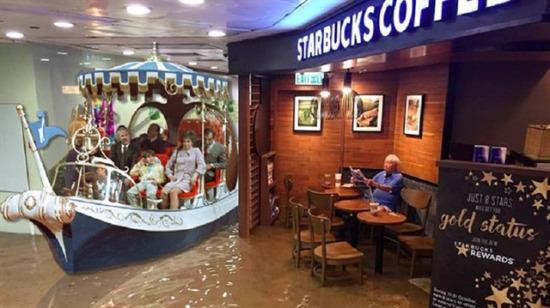 Photoshopçular tarafından trollenen umarsız 'Starbucks Amca'