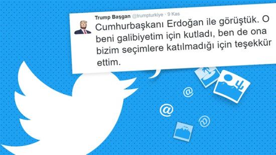 Seçim ABD'de oldu goygoyu bizi yordu, Twitter'ın yeni ağası Trump Başgan