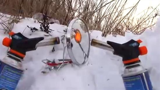 Ayna ısı tabancasıyla yakılırsa ne olur?