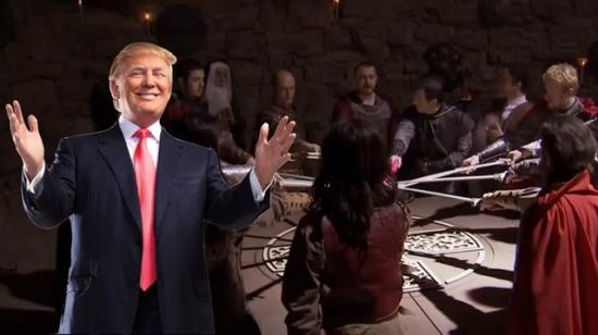 İzlenme rekoru kırıyor: Trump'a efsane Leyla ile Mecnun dublajı
