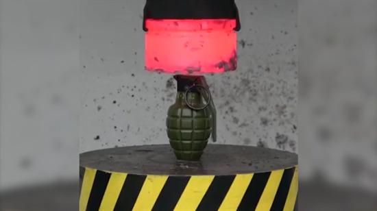 El bombası 1000 Derecelik 100 Ton ile presslenirse ne olur
