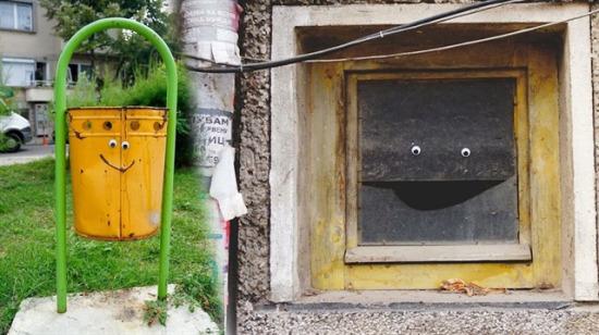 Bir çift gözle şehrin çehresini değiştiren gizli sanatçıdan 33 hayran olunası çalışma