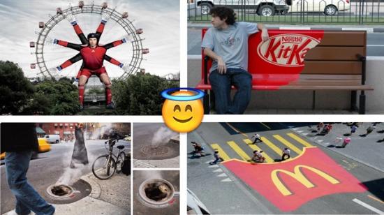 Dünya markalarına ait 15 ilginç sokak reklamı