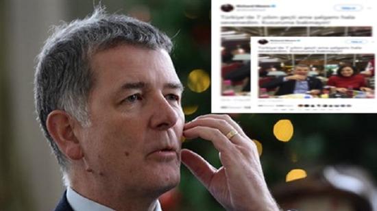 İngiliz Büyükelçi Richard Moore Sosyal medyayı salladı!
