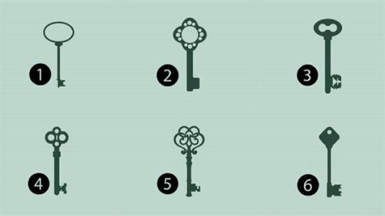 Bu anahtarlardan hangisini seçerdiniz? Seçtiğiniz anahtarın anlamını iyi okuyun!