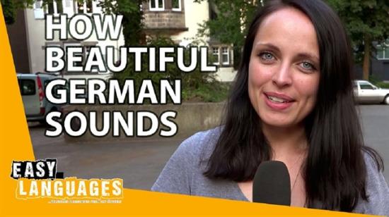 Zannedilenin aksine hiç de kaba olmayan dil: Almanca