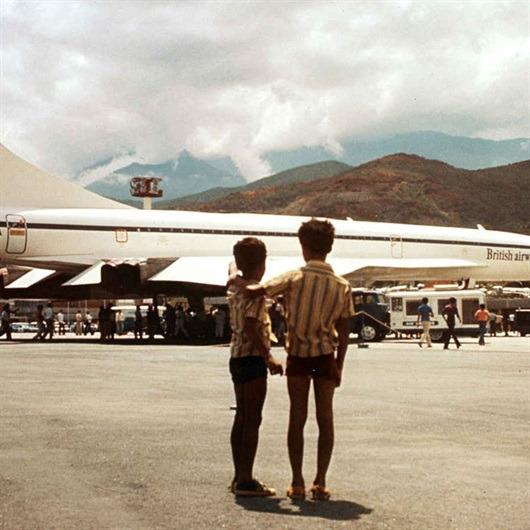 İngiltere'de imal edilen ilk Concorde uçağı ilk uçuşunu gerçekleştirdi