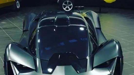 Bu dünyadan değil gibi, Lamborghini Egoista