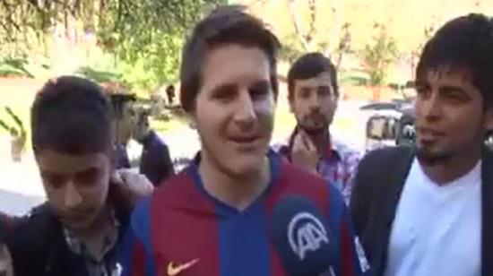 Messi'ye benzemeyen çocuk