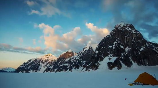 Ruth Glacier Buzulu, Alaska