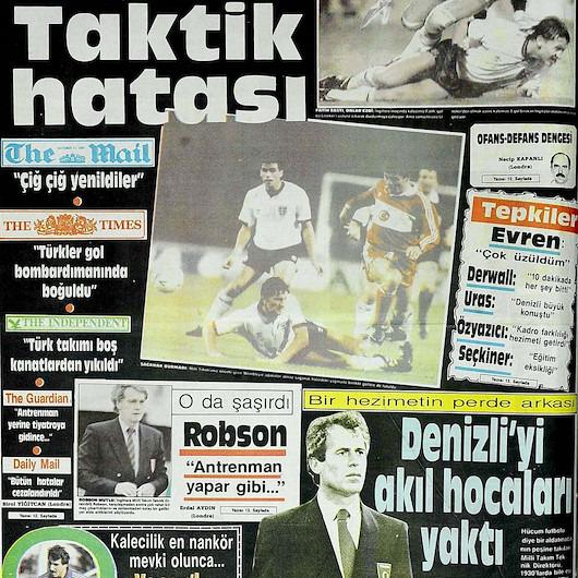 Hezimetin 34. yıldönümü: Türkiye - İngiltere maçı