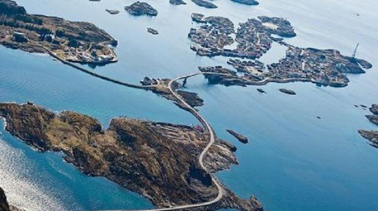 Atlantik Okyanusu Yolu, Norveç