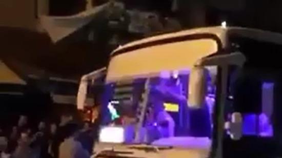 Adana'da sıradan bir minibüs